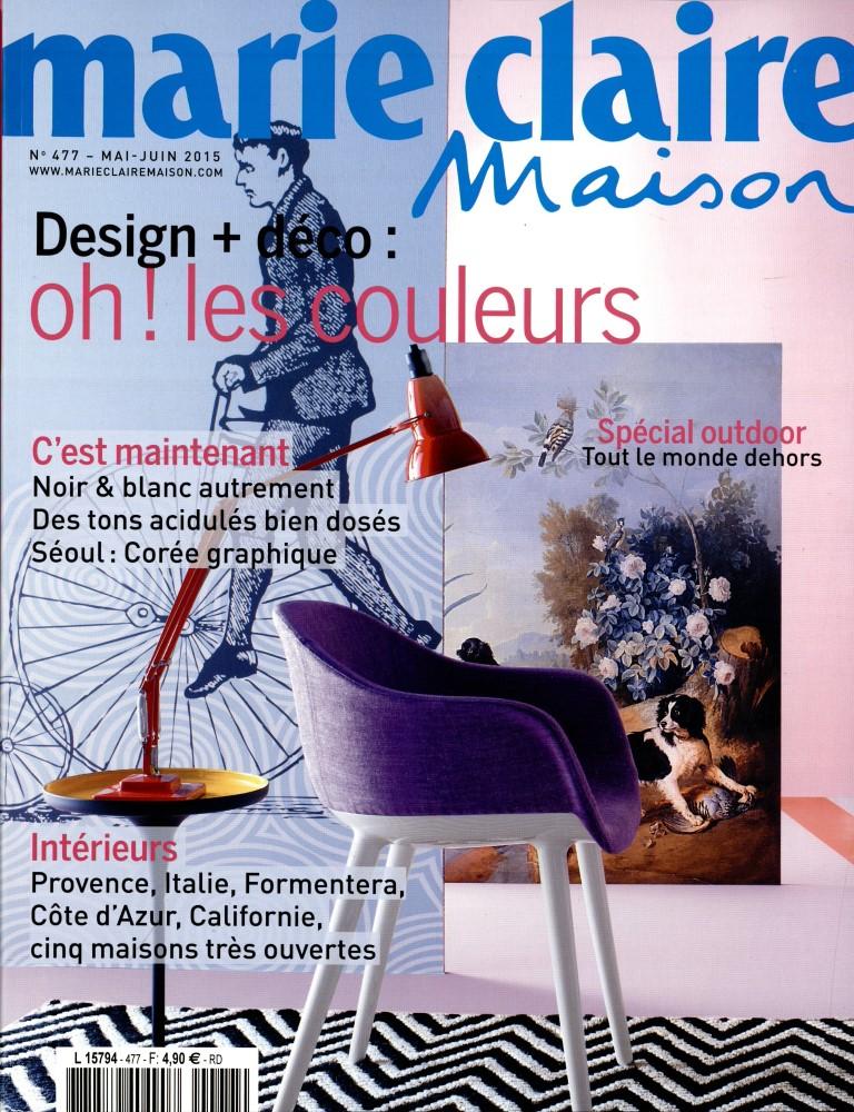 marie claire maison n 477 abonnement marie claire maison abonnement magazine par. Black Bedroom Furniture Sets. Home Design Ideas