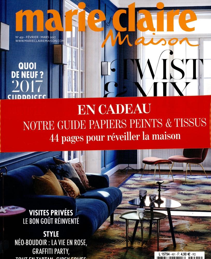 Marie Claire Maison N° 491 Janvier 2017