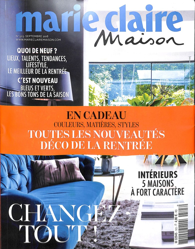 Marie Claire Maison N° 503 August 2018