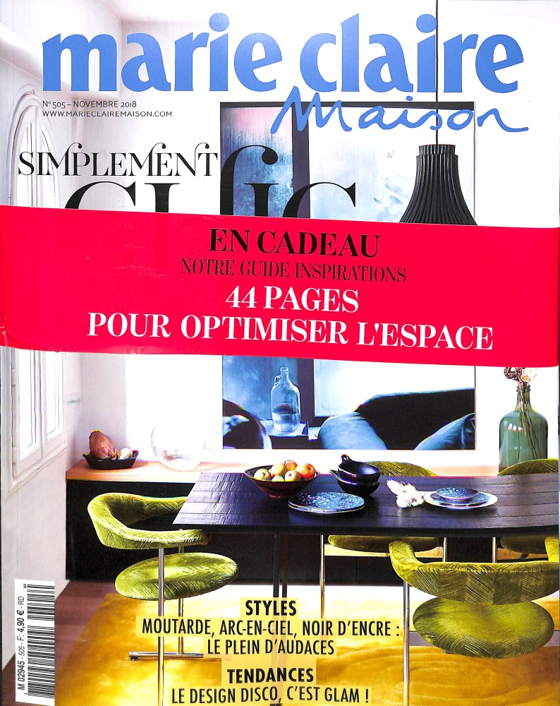 Marie Claire Maison N° 505 October 2018