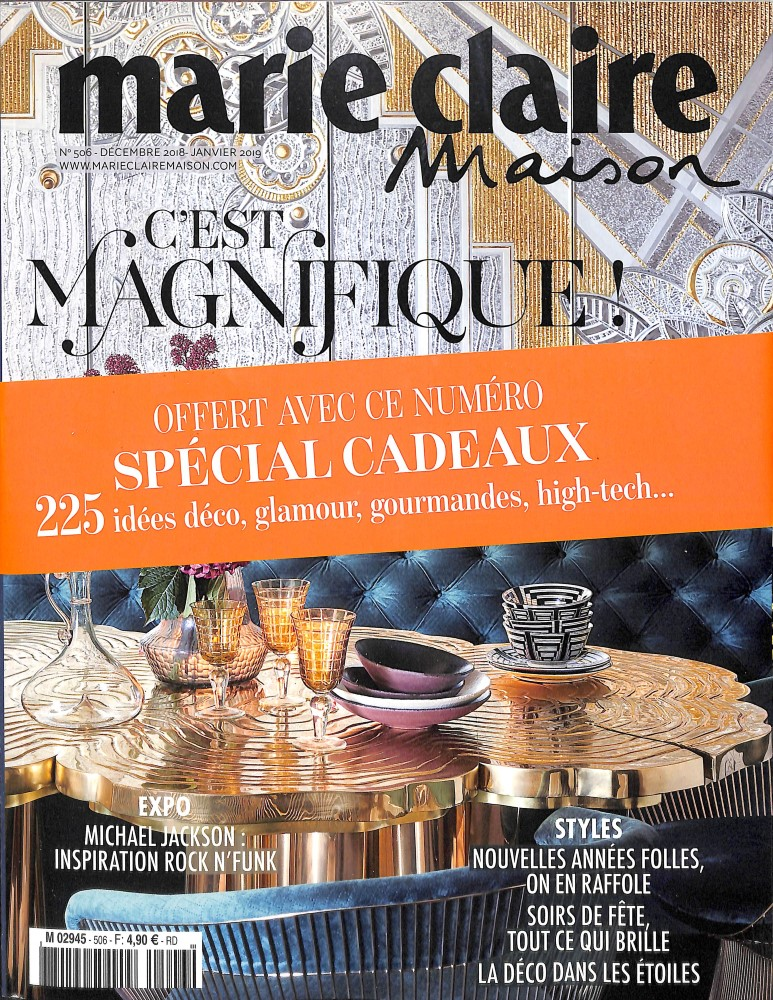 Marie Claire Maison N° 506 November 2018