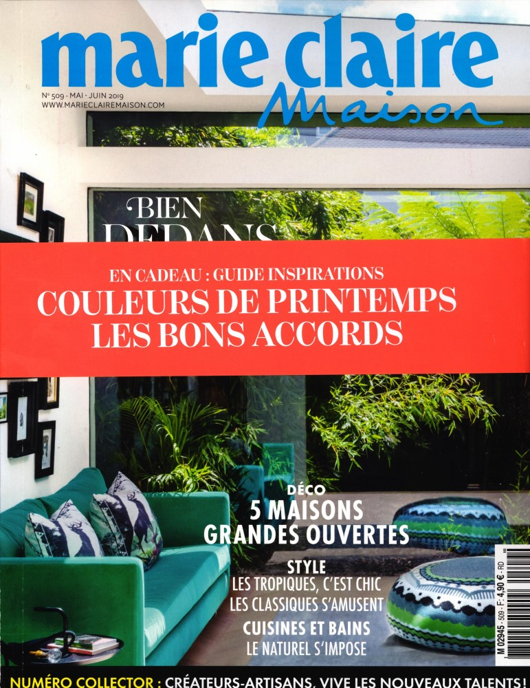 Marie Claire Maison N° 509 Avril 2019