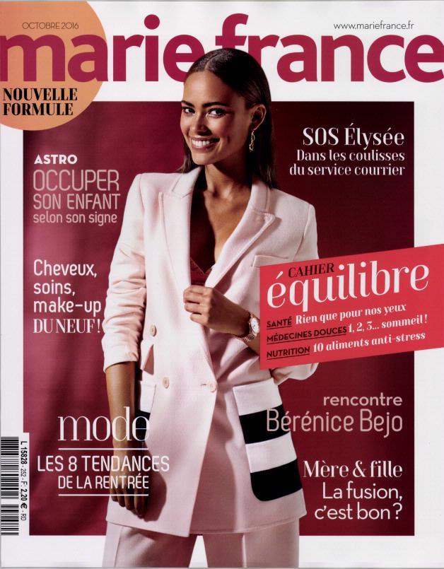 marie france n 252 abonnement marie france abonnement magazine par. Black Bedroom Furniture Sets. Home Design Ideas