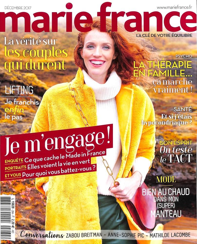 marie france n 264 abonnement marie france abonnement magazine par. Black Bedroom Furniture Sets. Home Design Ideas