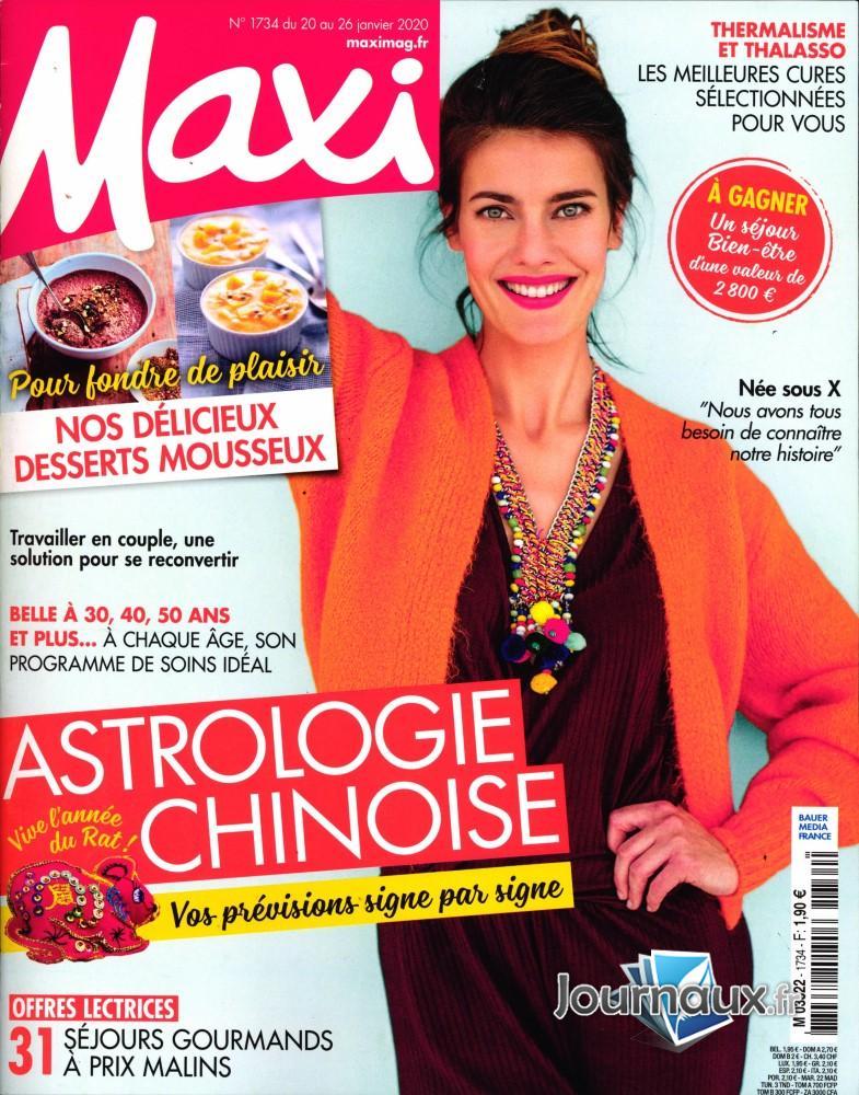 Maxi N° 1734 Janvier 2020