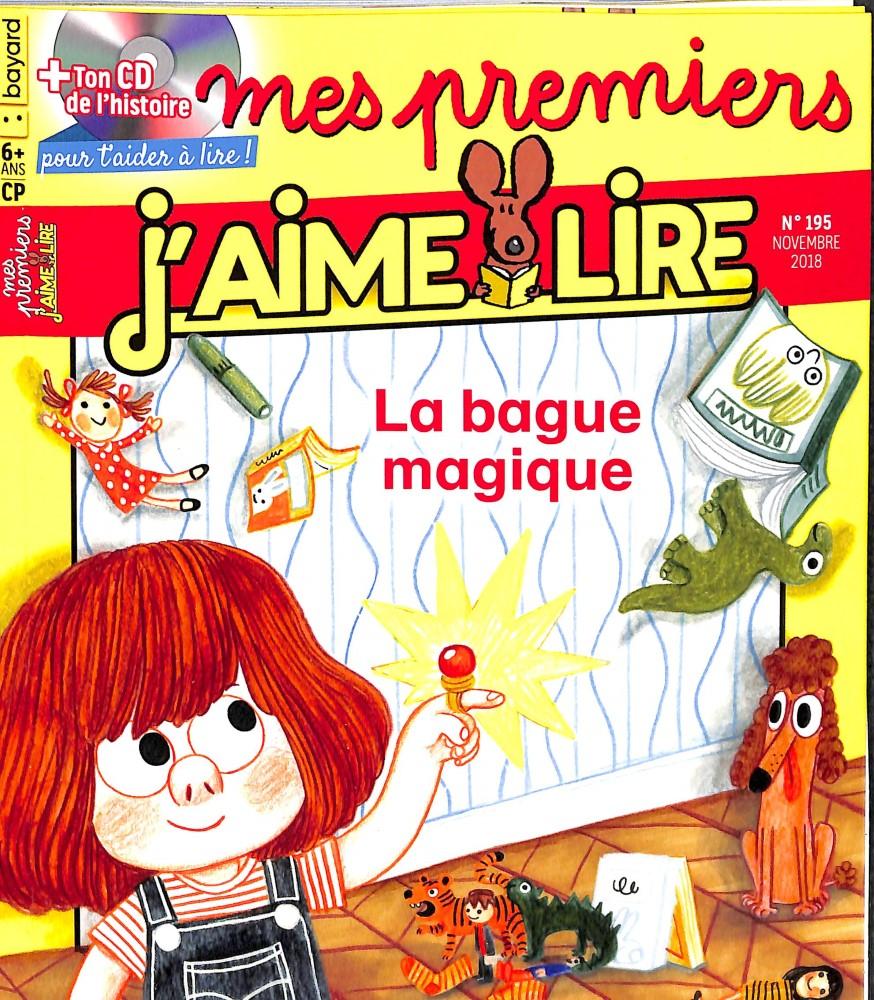 Mes premiers J'aime lire N° 195 October 2018