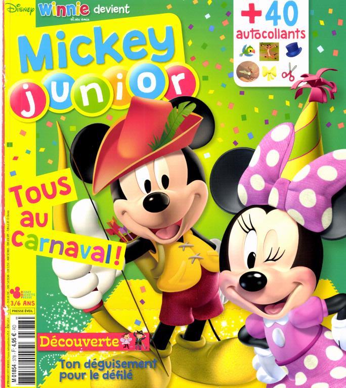 Mickey junior N° 379 Mars 2017