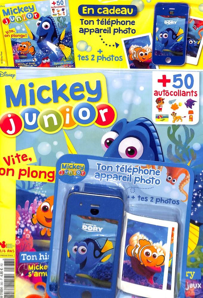 Mickey junior N° 383 Août 2017