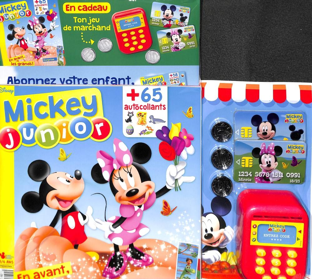 Mickey junior N° 391 April 2018