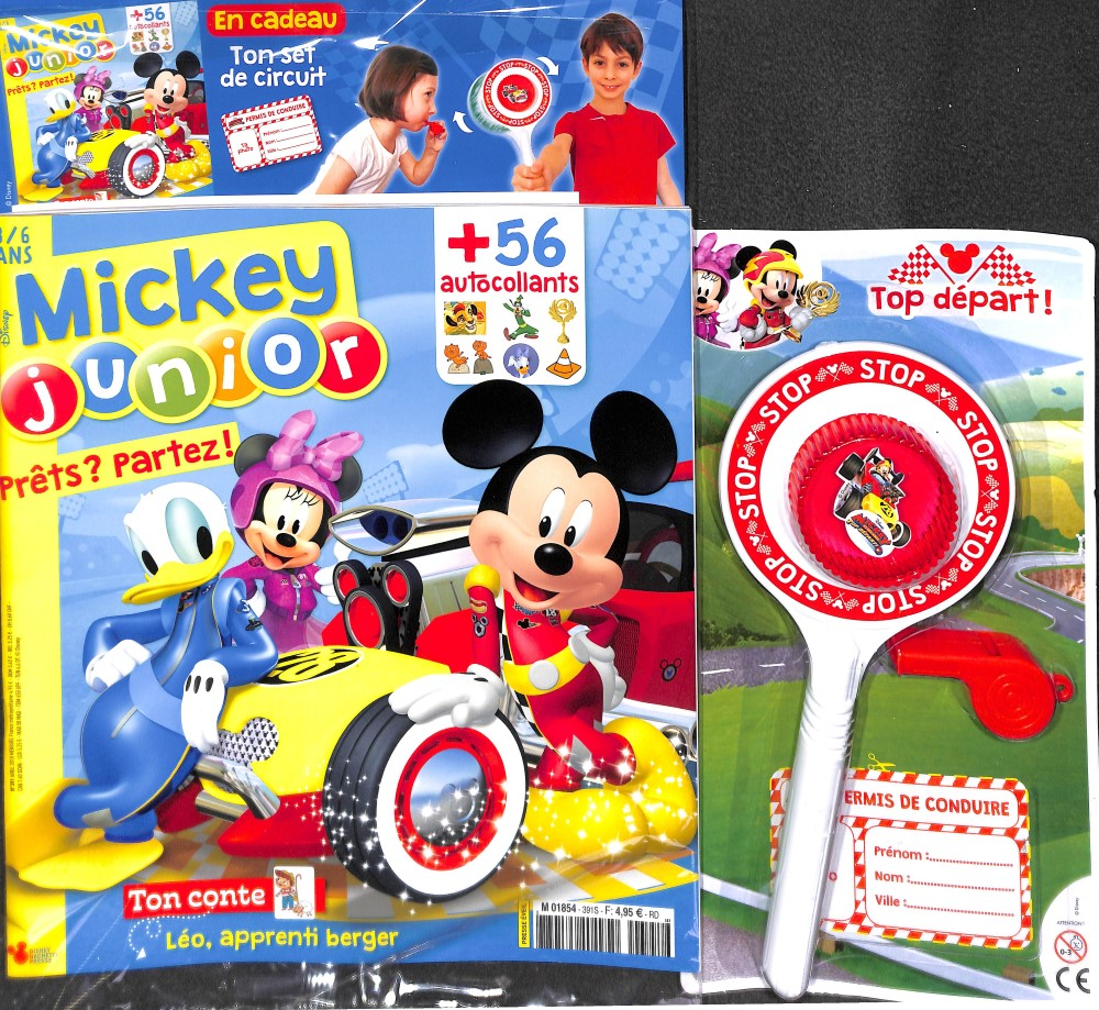 Mickey junior N° 408 Septembre 2019