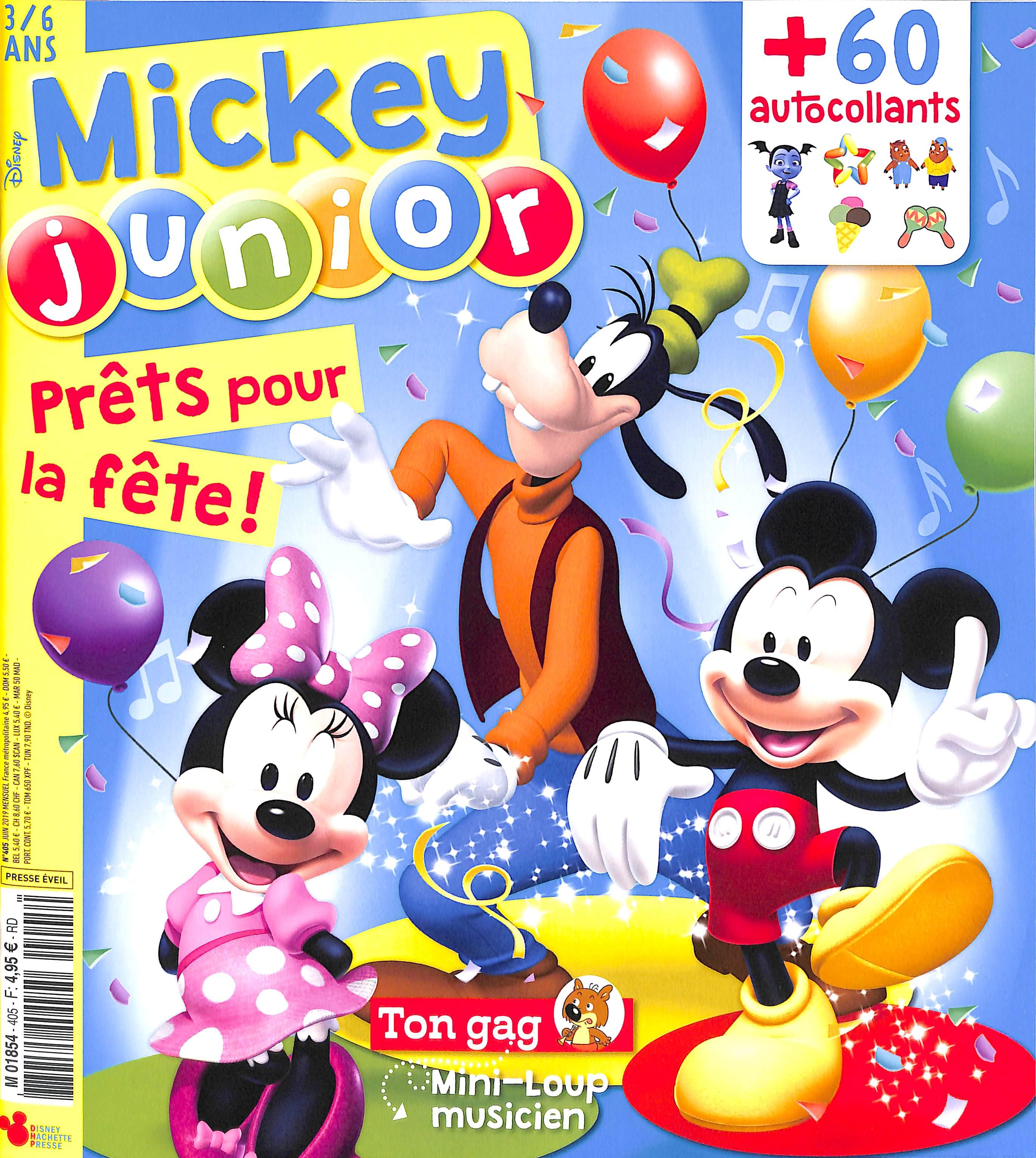 Mickey junior N° 405 Juin 2019