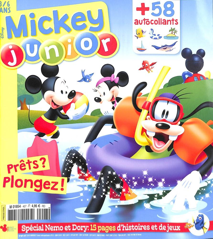 Mickey junior N° 407 Juillet 2019