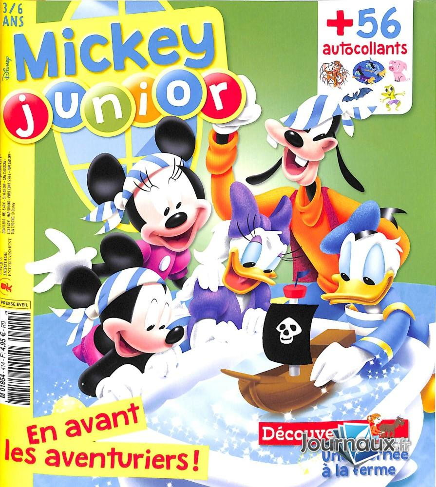 Mickey junior N° 414 Mars 2020