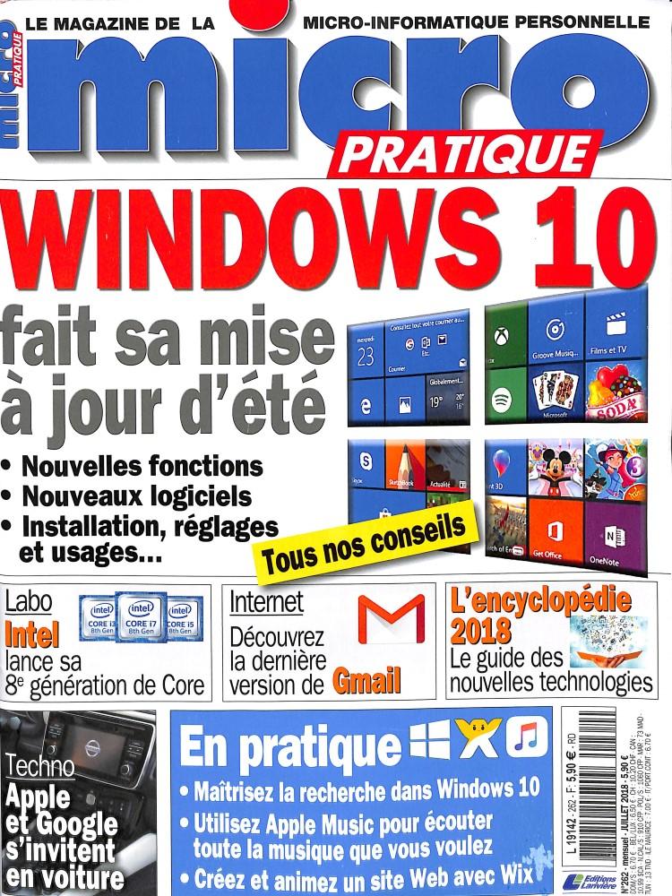 Micro Pratique N° 264 August 2018