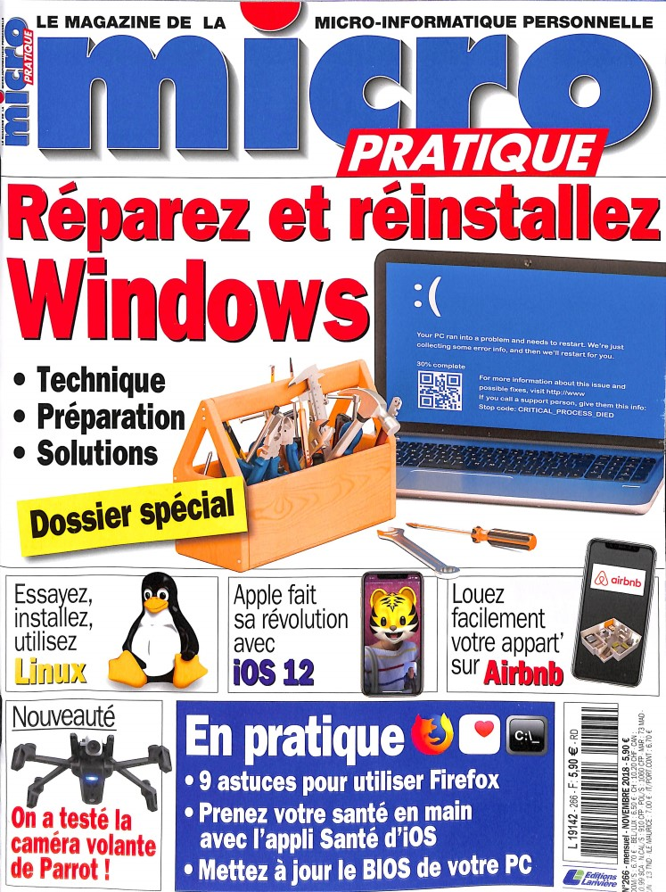 Micro Pratique N° 266 October 2018