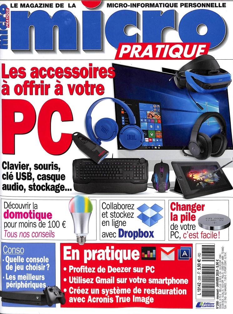 Micro Pratique N° 269 Janvier 2019