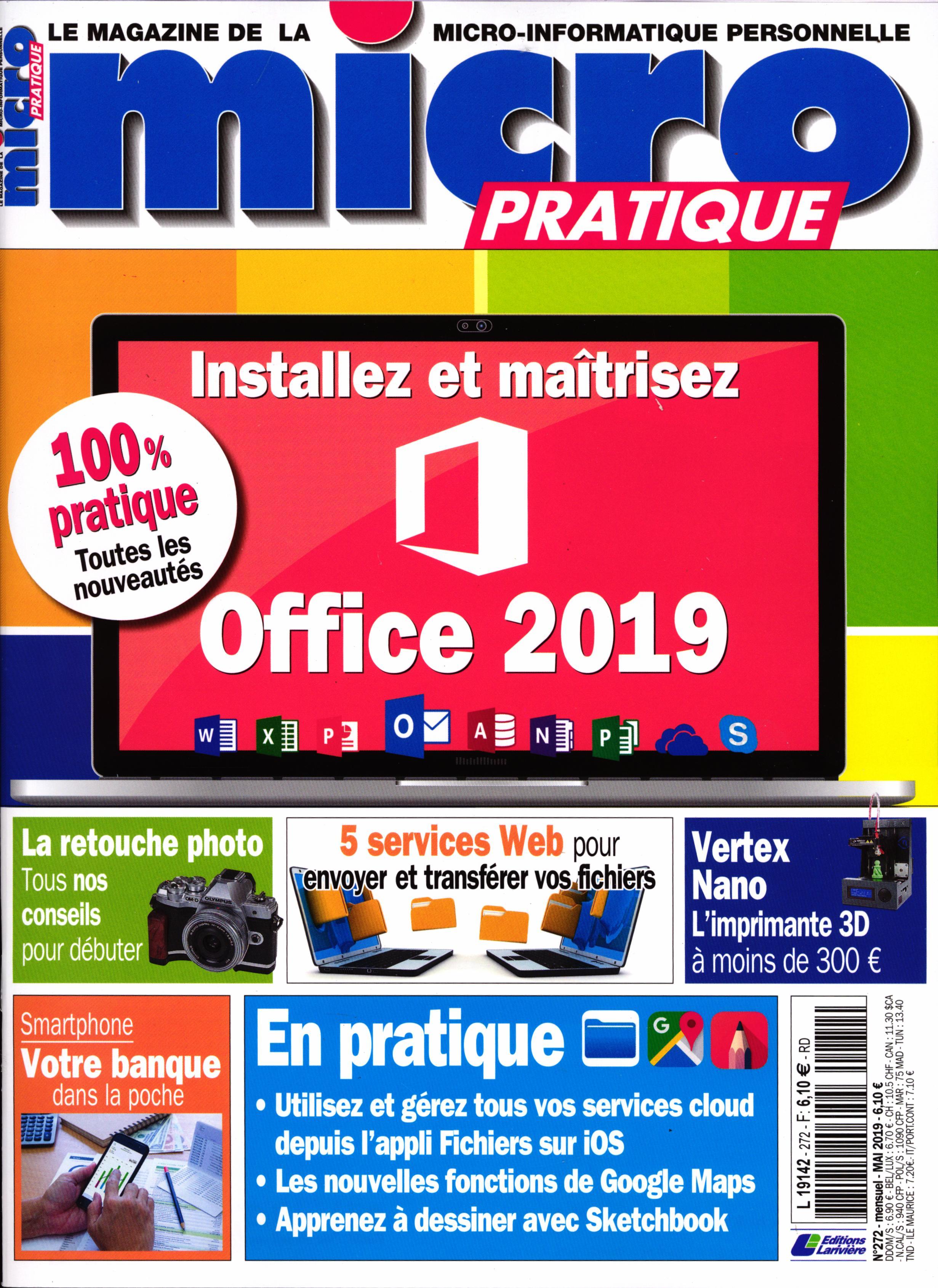 Micro Pratique N° 272 Avril 2019