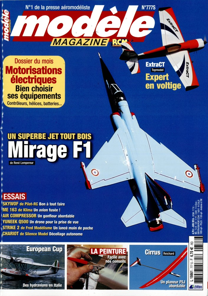 Modèle Magazine N° 814 Juin 2019