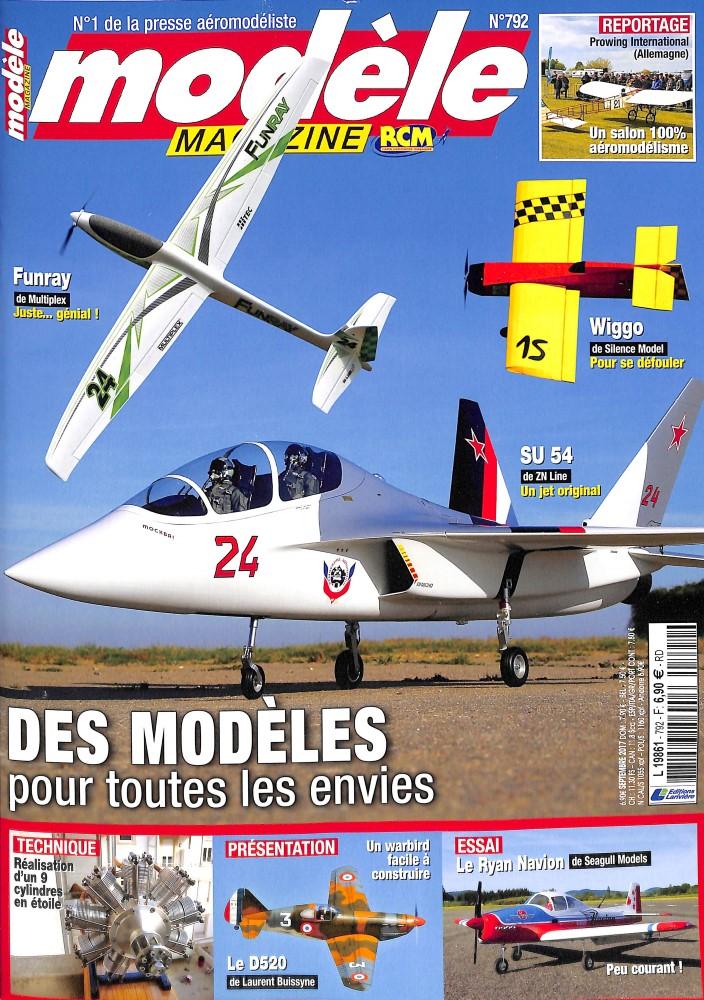 Modèle Magazine N° 792 Août 2017