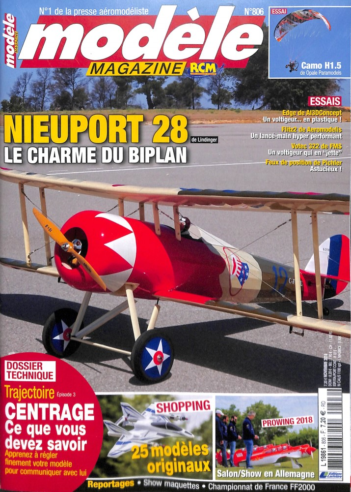 Modèle Magazine N° 806 October 2018