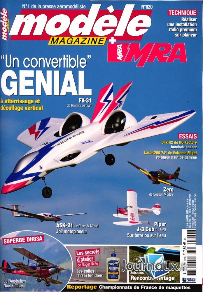 Modèle Magazine N° 820 Décembre 2019