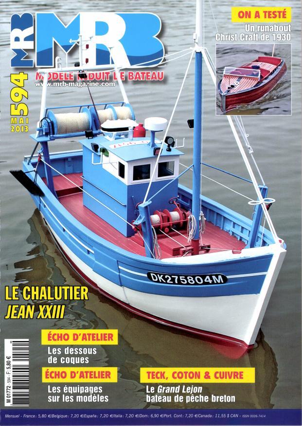 Modèle Réduit de Bateau n° 594 - Abonnement Modèle Réduit de Bateau | Abonnement magazine par ...
