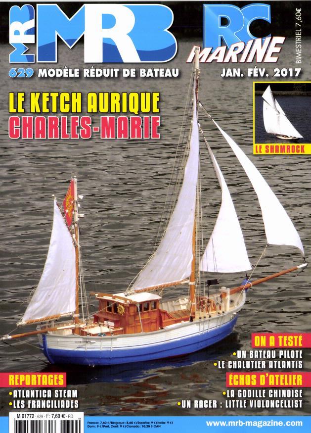 Modèle Réduit de Bateau N° 629 Janvier 2017