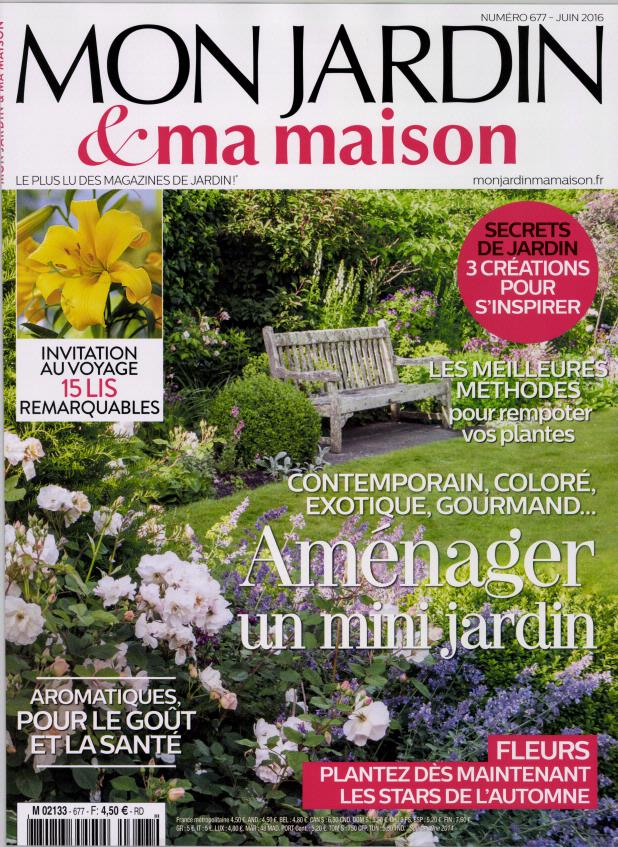 abonnement mon jardin et ma maison abonnement magazine par. Black Bedroom Furniture Sets. Home Design Ideas