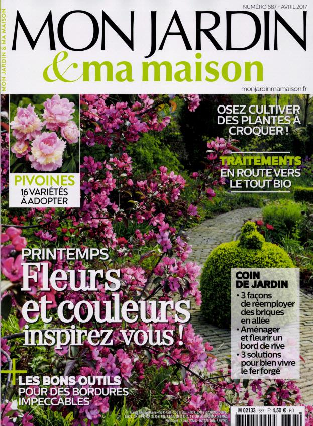 abonnement mon jardin et ma maison intermagazines. Black Bedroom Furniture Sets. Home Design Ideas