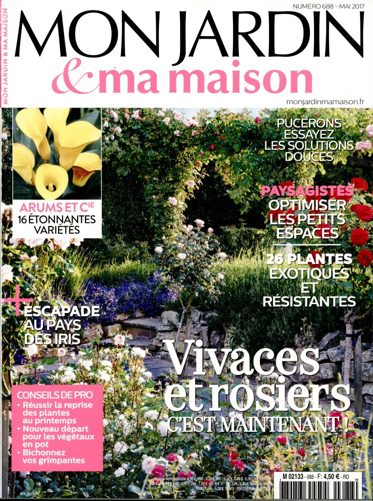 mon jardin et ma maison n 688 abonnement mon jardin et ma maison abonnement magazine par. Black Bedroom Furniture Sets. Home Design Ideas