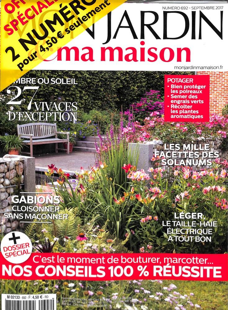 mon jardin et ma maison n 692 abonnement mon jardin et ma maison abonnement magazine par. Black Bedroom Furniture Sets. Home Design Ideas