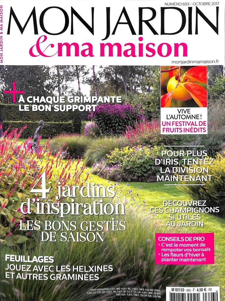 mon jardin et ma maison n 693 abonnement mon jardin et ma maison abonnement magazine par. Black Bedroom Furniture Sets. Home Design Ideas