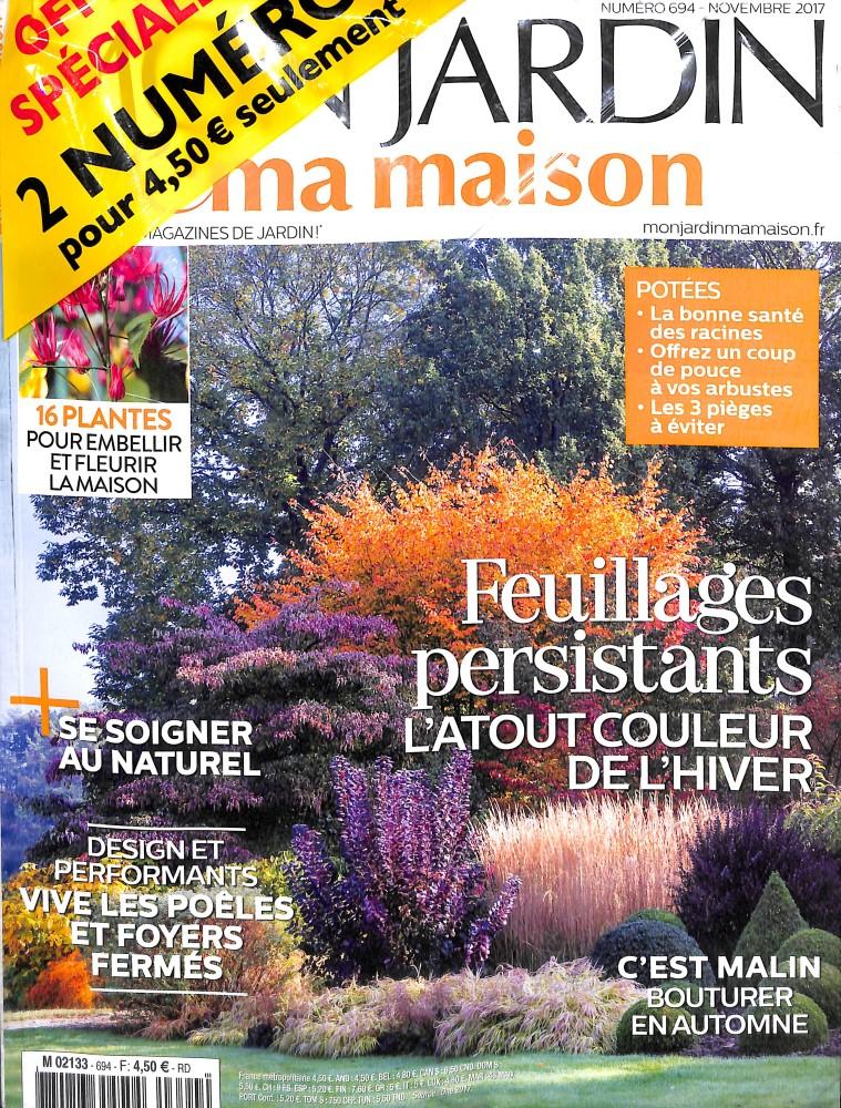 Mon jardin et ma maison n 694 abonnement mon jardin et ma maison abonnement magazine par - Abonnement maison et jardin ...