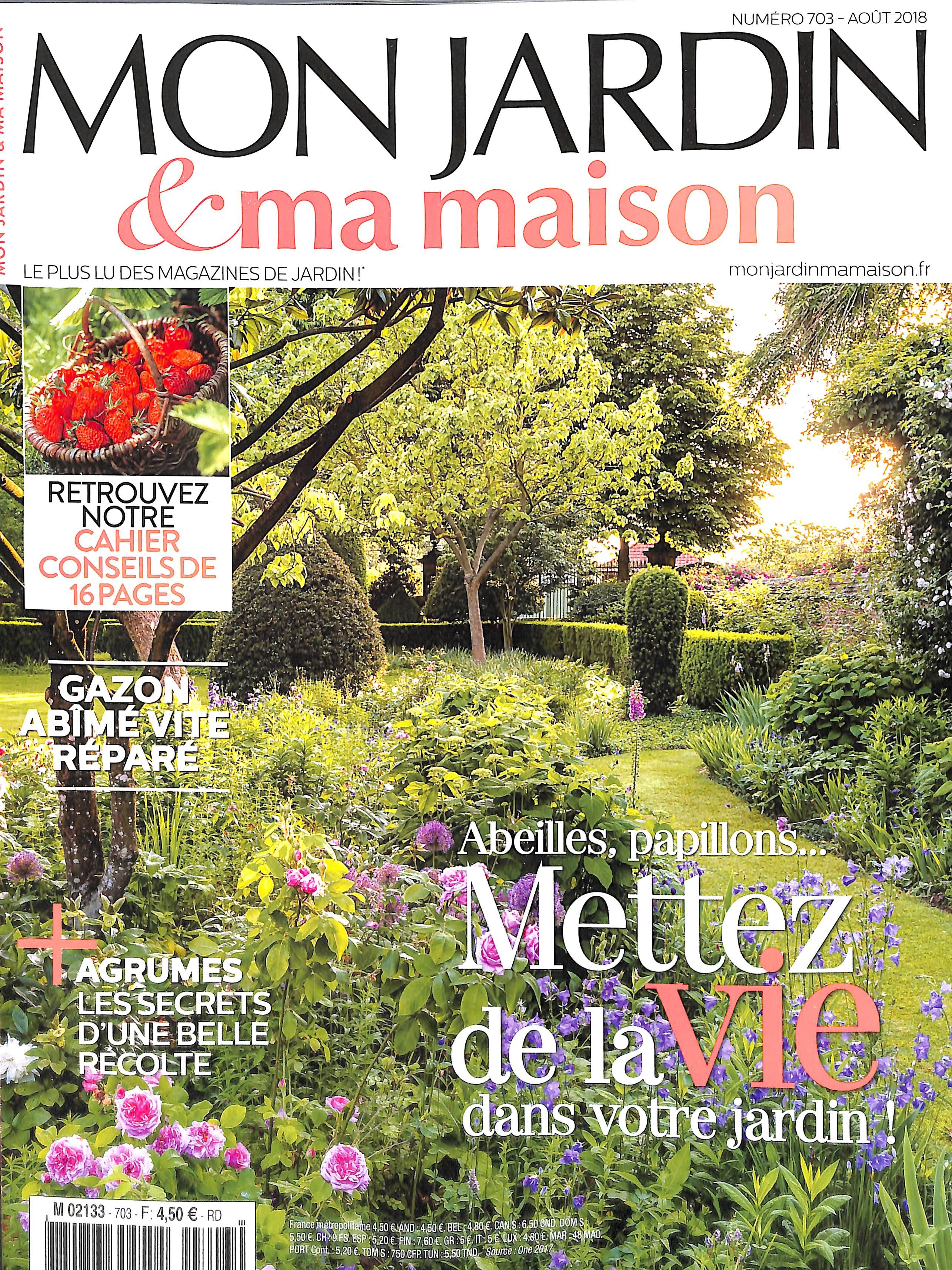 Mon jardin et ma maison n 703 abonnement mon jardin et ma maison abonnement magazine par - Abonnement maison et jardin ...