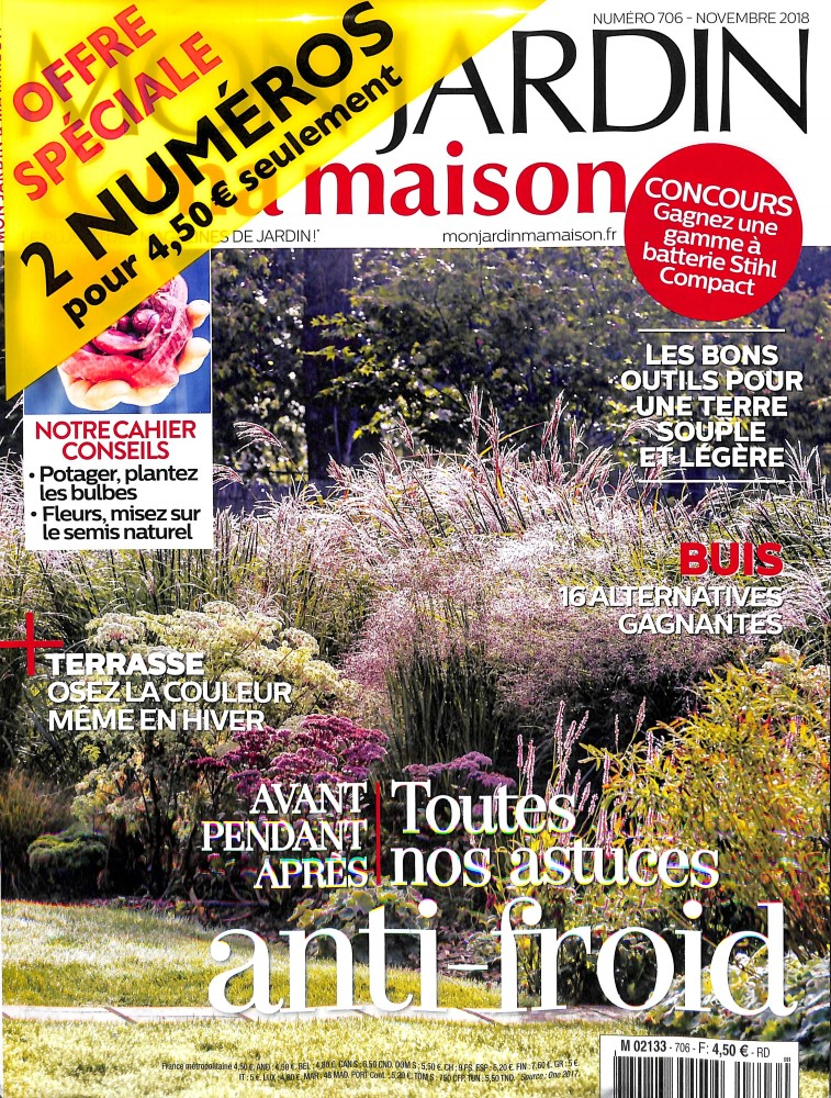 Mon jardin et ma maison N° 706 October 2018
