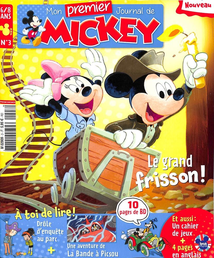 Mon premier Journal de Mickey N° 3 Octobre 2018