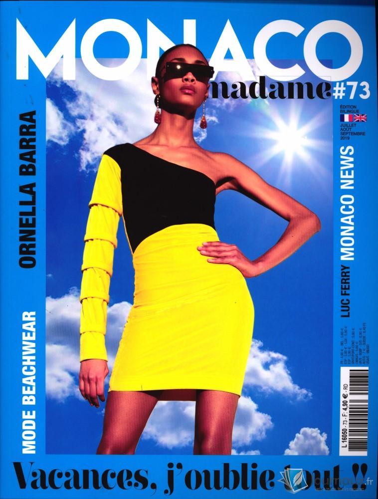 Monaco madame N° 73 Juillet 2019