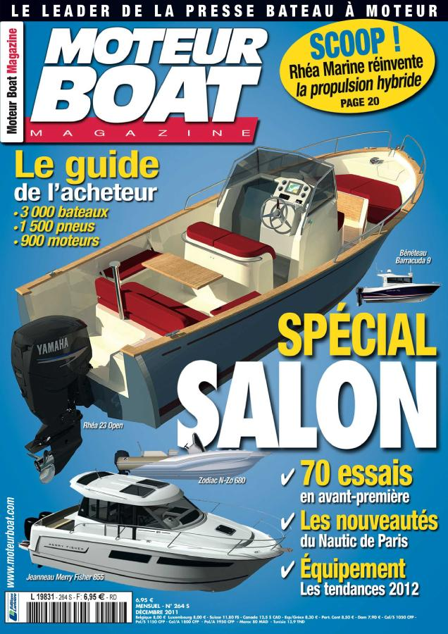 Moteur Boat Magazine N° 362 Janvier 2020
