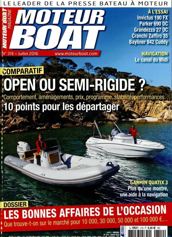Moteur Boat Magazine N° 363 Février 2020