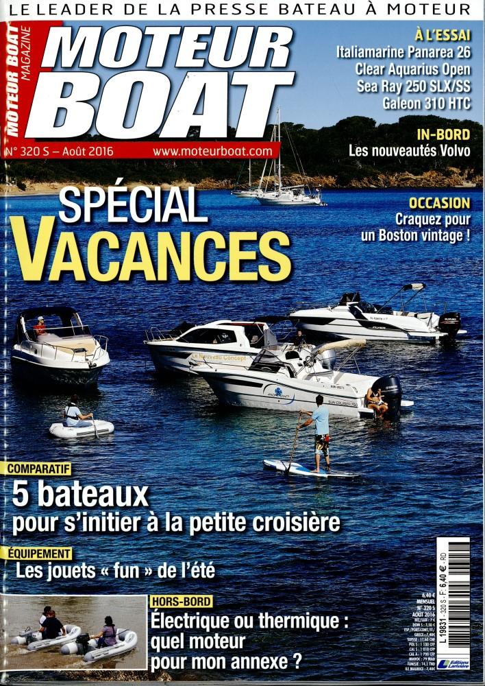 Moteur Boat Magazine N° 358 Septembre 2019