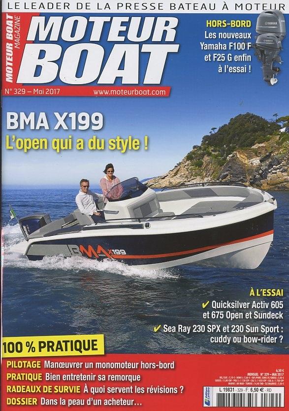 Moteur Boat Magazine N° 329 Avril 2017