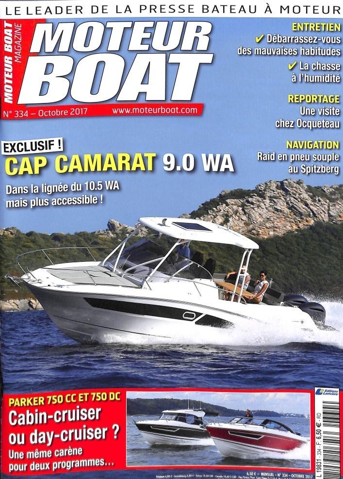 Moteur Boat Magazine N° 334 Septembre 2017