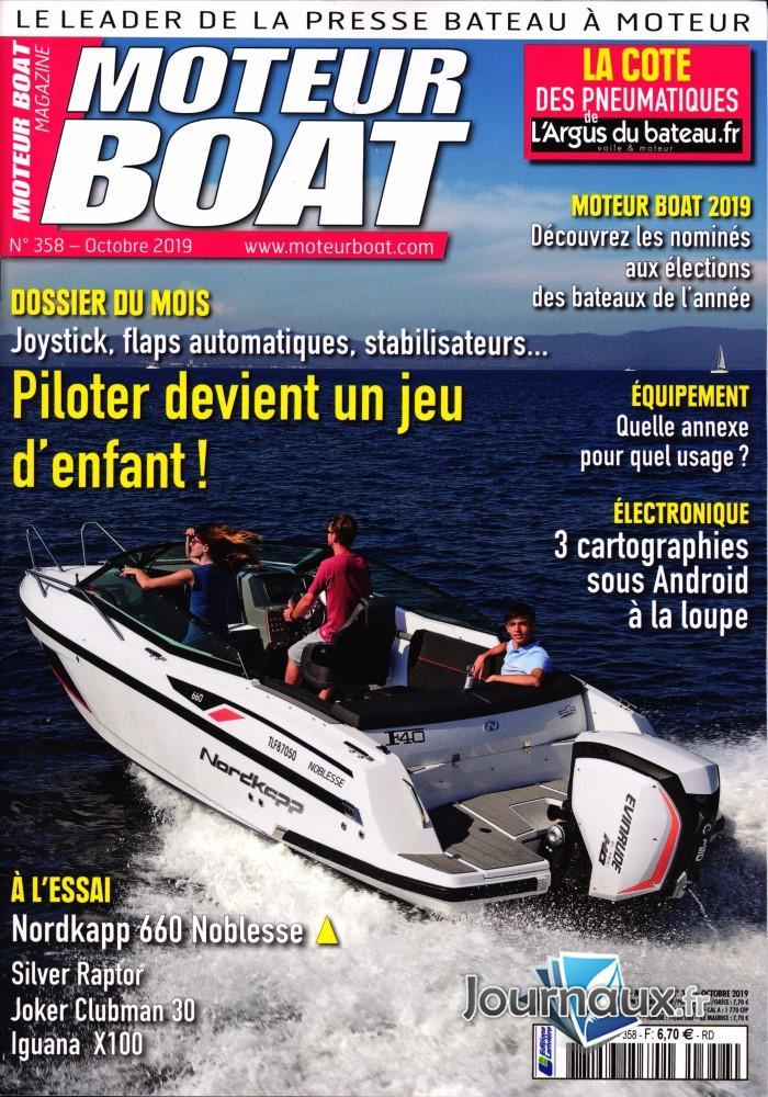 Moteur Boat Magazine N° 360 Novembre 2019
