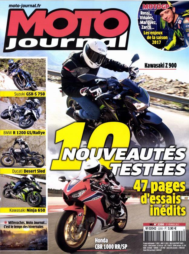 Moto Journal N° 2201 Février 2017