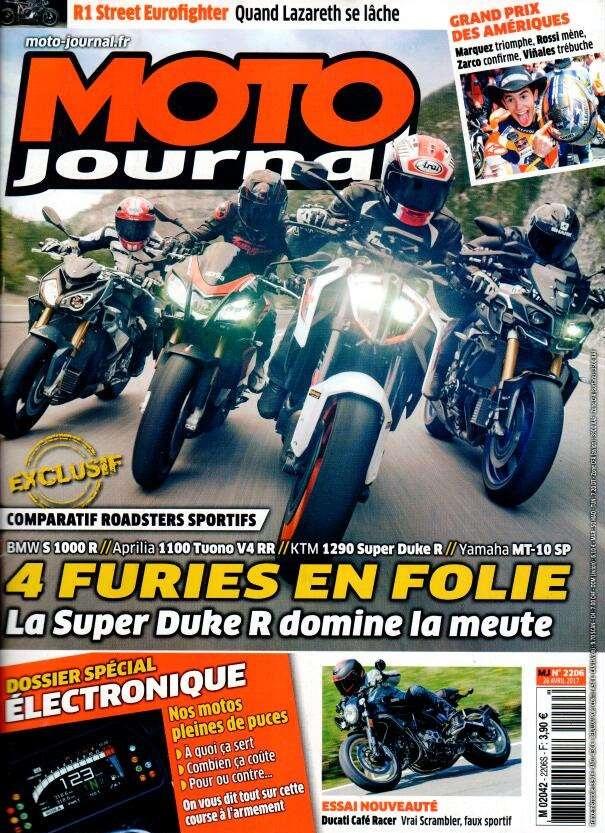 moto journal n 2206 abonnement moto journal abonnement magazine par. Black Bedroom Furniture Sets. Home Design Ideas