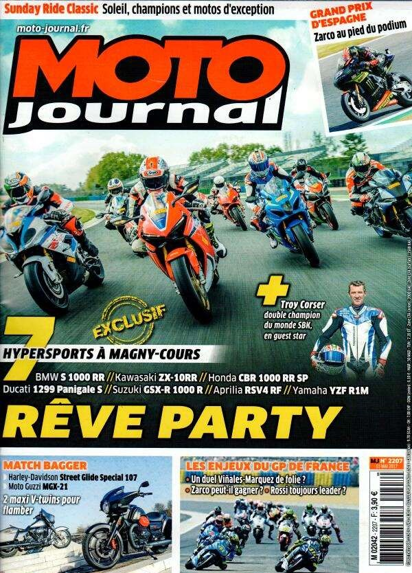 Moto Journal N° 2207 Mai 2017