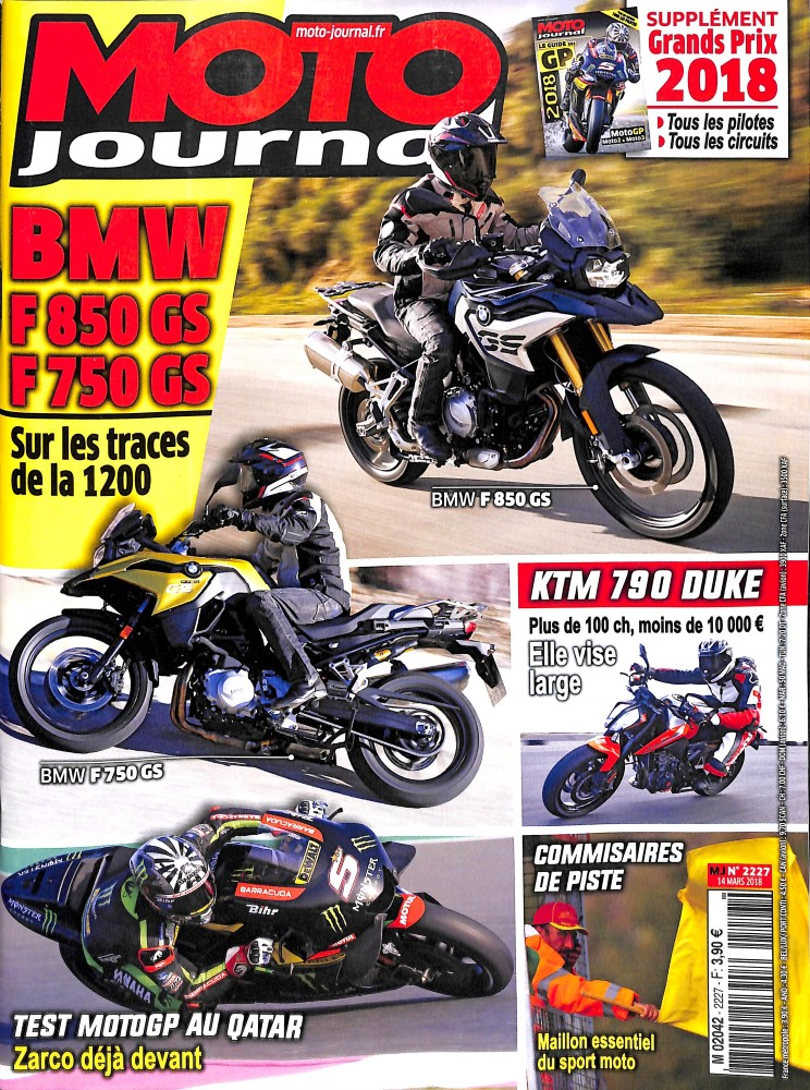 Moto Journal N° 2227 March 2018