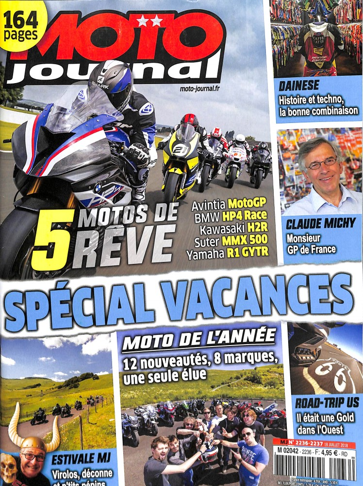 Moto Journal N° 2236 July 2018