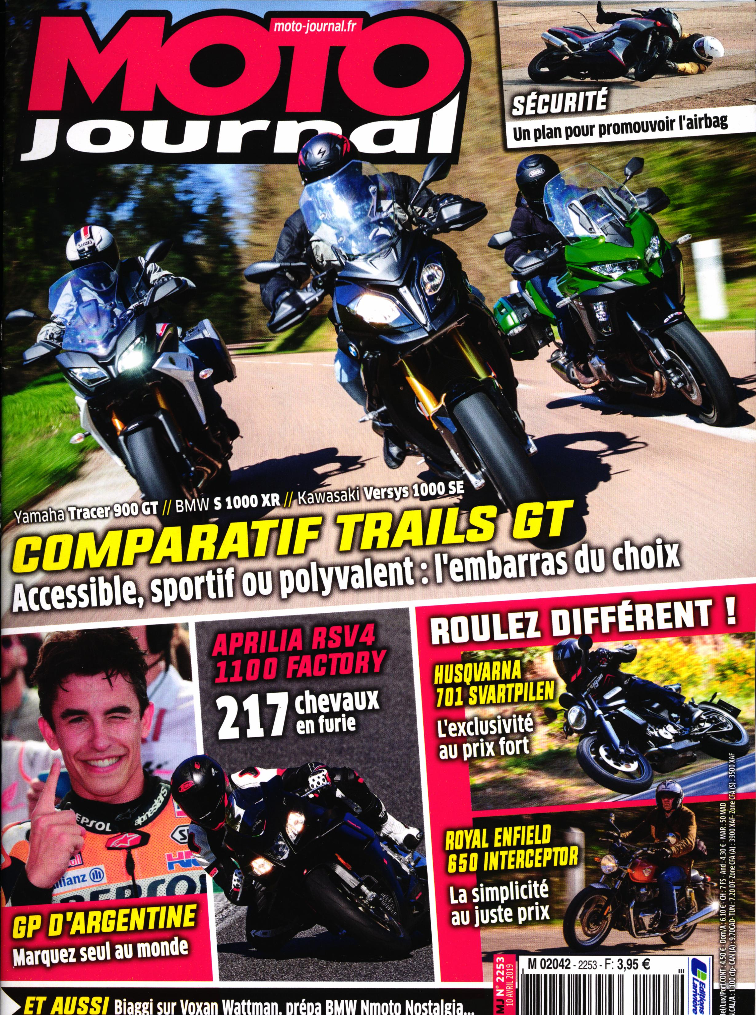 Moto Journal N° 2253 Avril 2019