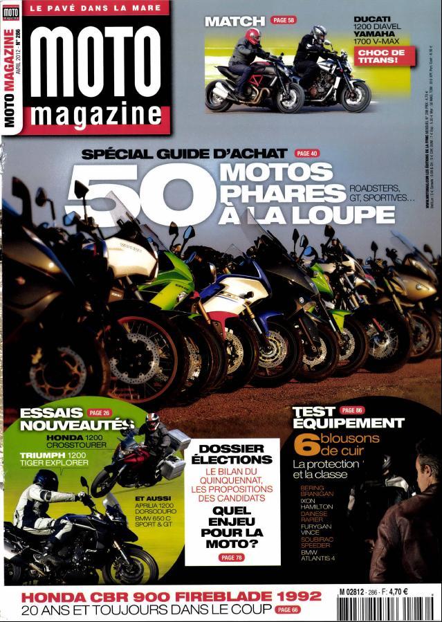 Moto Magazine N° 364 Janvier 2020